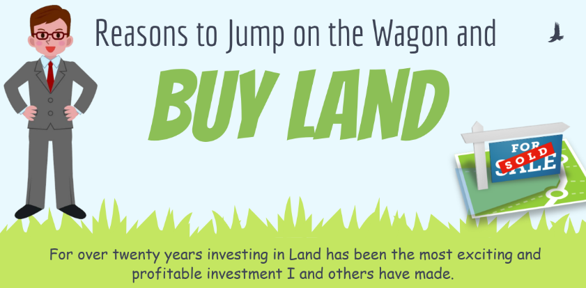 Reasons Land is an Attractive Investment Option in the US - Infographic