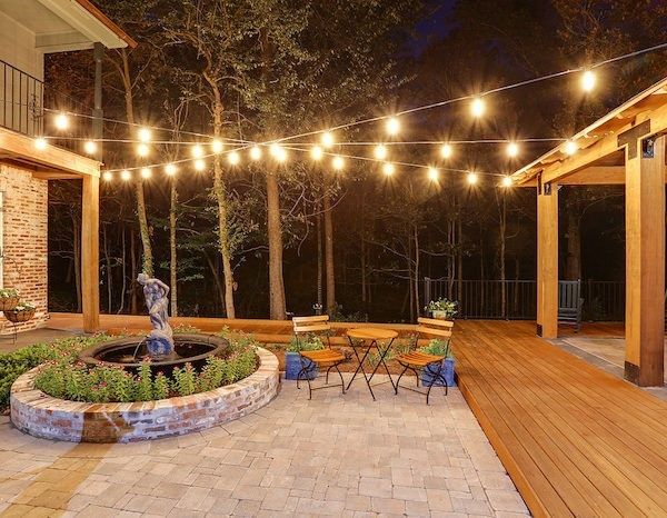 Add Outside Lights for Enjoyable Evenings