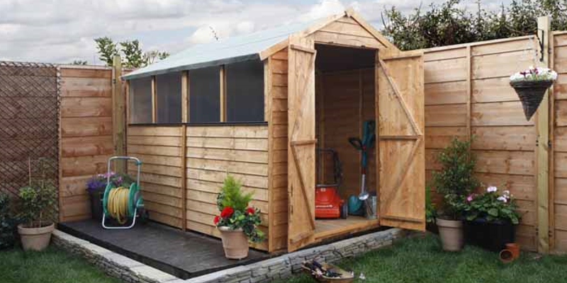 Create Extra Space to Work Comfortably with Making Sheds