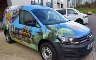 Vehicle Wrapping for Advertising