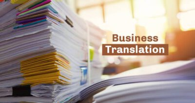 business translation