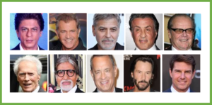 Top 20 Hollywood Stars & Richest Actors in the World with Net Worth