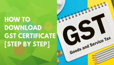 gst registration certificate from gst portal