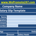 Salary Certificate Format: Difference b/w Salary Certificate & Salary Slip