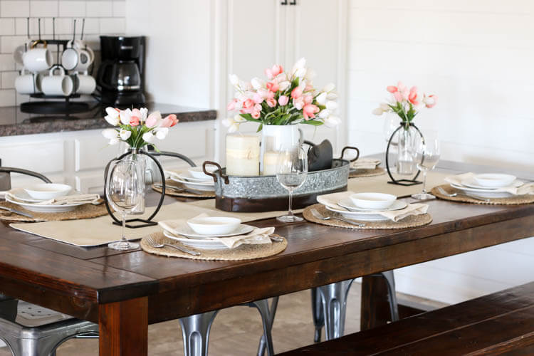 Give Your Dining Tablescape A New Look