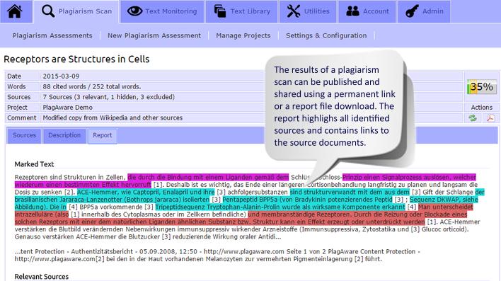 Plagaware Online Plagiarism Checker