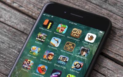 Mobile Games App
